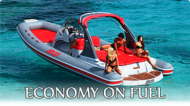 Economy on fuel boats