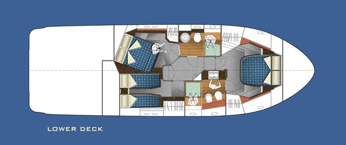 Salpa 52x - Lower Deck