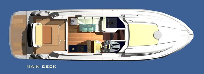 Salpa 52x - Main Deck
